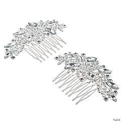 Bridal Crystal Combs