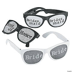 Bridal Party Pinhole Glasses