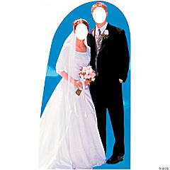 Bride & Groom Cardboard Stand-In Stand-Up