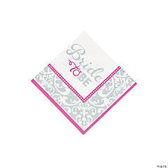 Bride to Be Beverage Napkins