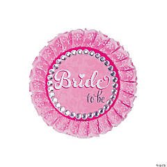 Bride to Be Deluxe Buttons