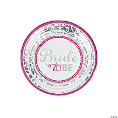 Bride to Be Dessert Plates