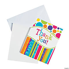 Bright & Bold Thank You Cards