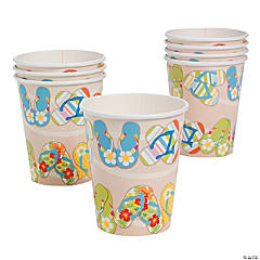 Bright Beach Paper Cups