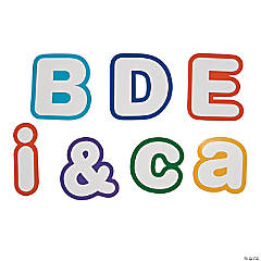 Bright Bulletin Board Letters & Numbers