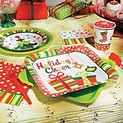 Bright Christmas Party Supplies