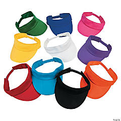 Bright Cotton Visor Assortment