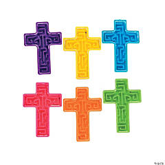 Bright Cross Mini Maze Puzzles