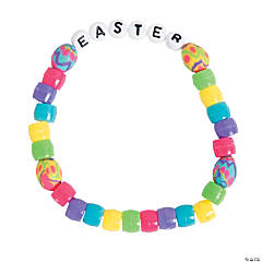 Bright Easter Egg Bracelet Craft Kit