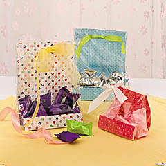Bright Flower Treat Bags Idea
