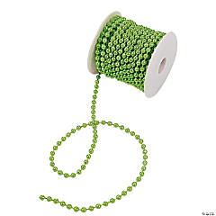 Bright Green Spool of Pearls