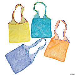 Bright Netted Cross Body Bags