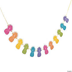Bright Pineapple Garland