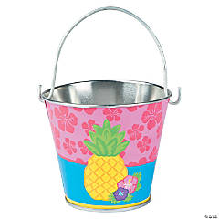 Bright Pineapple Pails