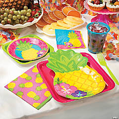 Bright Pineapple Party Supplies