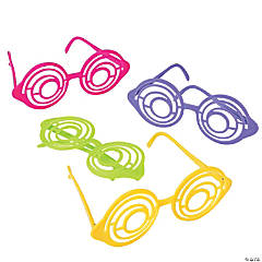 Bright Spiral Glasses