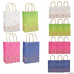 Bright Sprinkle Craft Bags