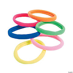 Bright Stretchy Bracelets & Hair Ties