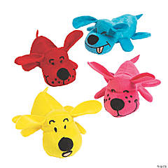 Bright Stuffed Puppy Pals