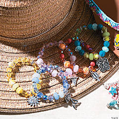 Bright Summer Fun Bracelets Idea