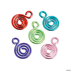 Bright Swirl Charms