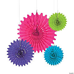 Bright Tissue Hanging Fans