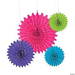 Bright Tissue Hanging Fans