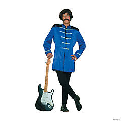 British Explosion Blue Adult Men's Costume