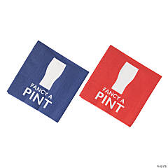 British Party Beverage Napkins