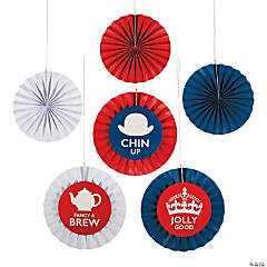 British Party Hanging Fans