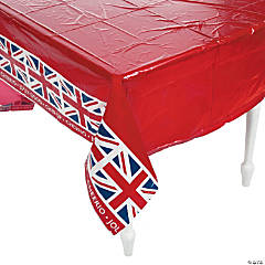 British Party Plastic Tablecloth