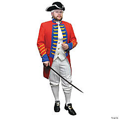 British Revolution Officer Costume For Men