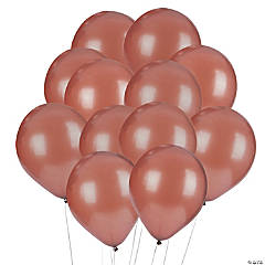 Brown Latex Balloons