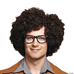 Brown Party Rock Wig
