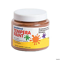Brown Powder Tempera Paint