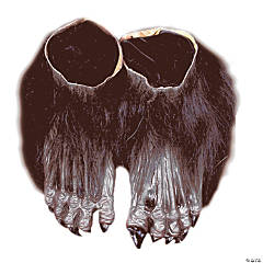 Brown Werewolf Feet