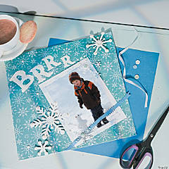 """Brrr"" Scrapbook Page Idea"