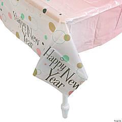 Bubble & Bright Plastic Tablecloth