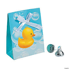 Bubble Bath Favor Boxes