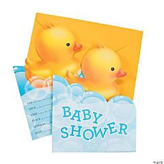 Bubble Bath Invitations
