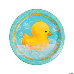 Bubble Bath Paper Dinner Plates