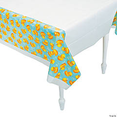 Bubble Bath Plastic Tablecloth