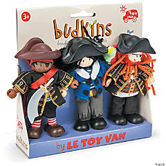 Buccaneers Budkins Character Dolls