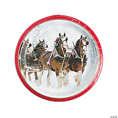 Budweiser® Clydesdales Dinner Plates
