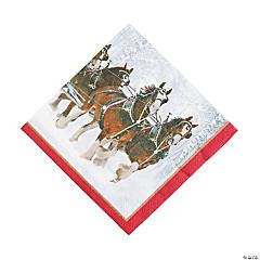 Budweiser® Clydesdales Luncheon Napkins