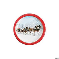 Budweiser® Clydesdales Paper Dessert Plates