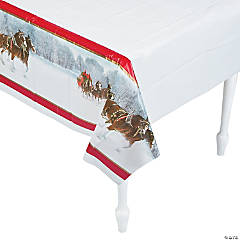 Budweiser® Clydesdales Tablecloth
