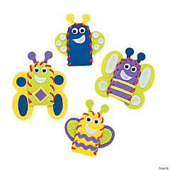 Bug & Butterfly Finger Puppets