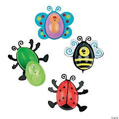Bug-Shaped Plastic Easter Eggs - 12 Pc.