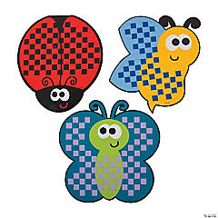 Bug Weaving Mat Craft Kit